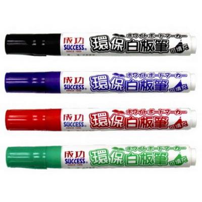 【文具通】SUCCESS 成功 環保白板筆 可填充 13071 黑 A1210205