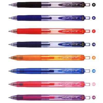 【文具通】UNI 三菱 UMN-138 0.38自動中性筆.藍 A1300853