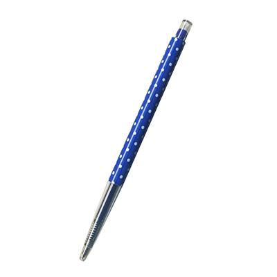 【文具通】筆樂PC7136按壓式中性筆 藍 A1301810