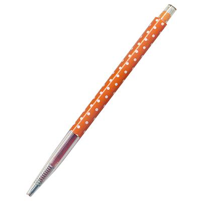 【文具通】筆樂PC7136按壓式中性筆 橘 A1301814