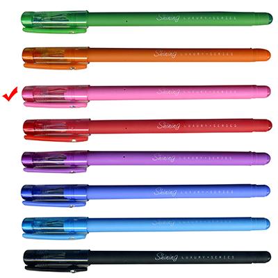 【文具通】TEMPO 節奏 G-167鑽石彩色中性筆0.38粉
