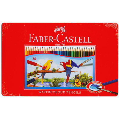 【文具通】Faber-Castell 輝柏 水性彩色鉛筆36色 A1340040