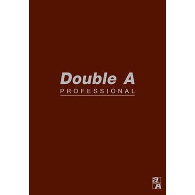 【文具通】Double a A5 25k40張入膠裝固頁筆記 咖啡 A3011241