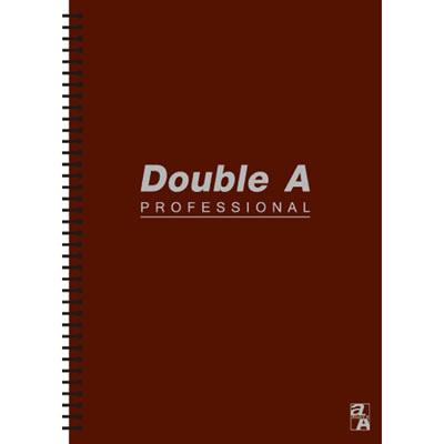 【文具通】Double a A5 25k50張入活頁筆記本 咖啡 A3011257