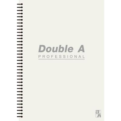 【文具通】Double a A5 25k50張入活頁筆記本 米 A3011258