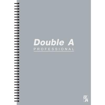 【文具通】Double a A5 25k50張入活頁筆記本 灰 A3011259