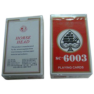 【文具通】馬頭6003撲克牌[紅] B1010001