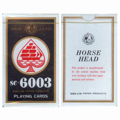 【文具通】馬頭6003撲克牌[藍] B1010033