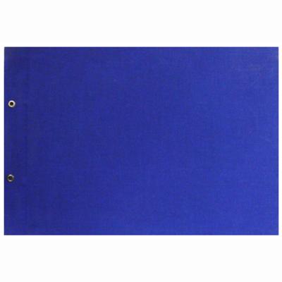 【文具通】A4 布製表皮2孔[藍] B3010023