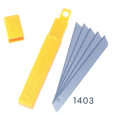 【文具通】SDI 順德 1403 小美工刀片10片入 B4010018