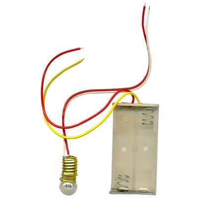 【文具通】MH 美和 燈泡附線+電池座 B7010042