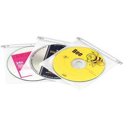 【文具通】2片裝懸吊式CD內頁保護袋20入 CD-5008