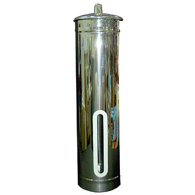 【文具通】不銹鋼自動杯架 DH000024