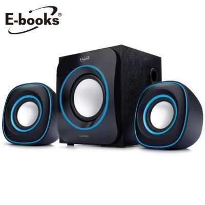 【文具通】E-books D10 三件式多媒體喇叭 E-EPD091