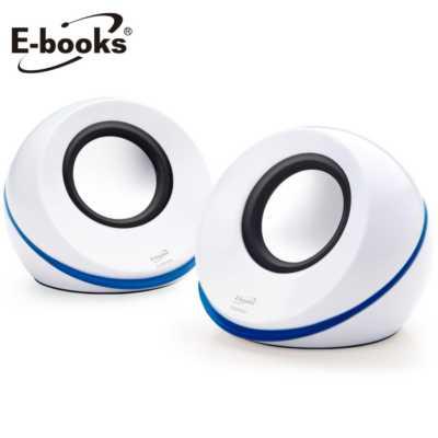 【文具通】E-books D9 二件式瑞典生活多媒體喇叭 E-EPD094WH