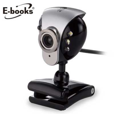 【文具通】E-books W6 網路攝影機2000萬畫素 E-PCC043