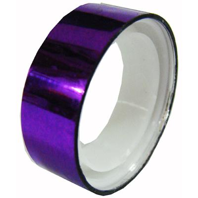 【文具通】迷你晶晶膠帶 紫 E1030125