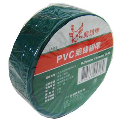 【文具通】四維 鹿頭絕緣膠帶(綠)19mmx10 E1030309