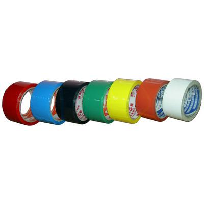 【文具通】GWT 文具通 OPP包裝膠帶彩色 48mm x 45 紅 E1030316