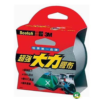 【文具通】3M 130超強大力膠帶48mmx4M[灰色 E1030328