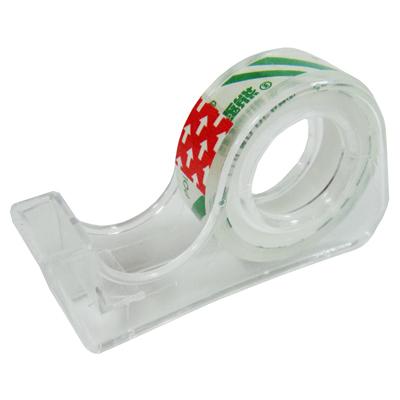 【文具通】北極熊12mm迷你透明膠帶附台 E1030445