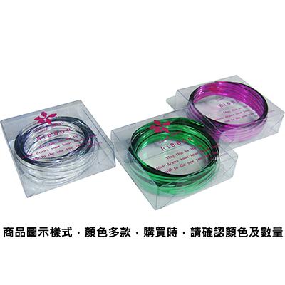 【文具通】PanShing 潘興 透明盒入彩色魔帶[紫色] E1150019