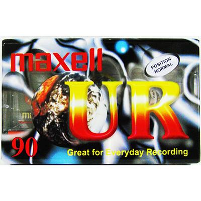 【文具通】Maxell UR 90 空白帶 錄音帶 90分鐘 E1170005