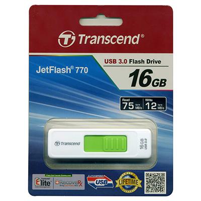 【文具通】Transcend 創見 16GB JetFlash770 隨身碟  TS16GJF770 E1190040
