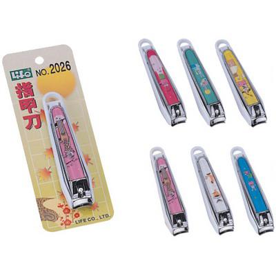 【文具通】Life 徠福 徠福 指甲刀 (90mm) NO.2026 可收納指甲屑 E2040235