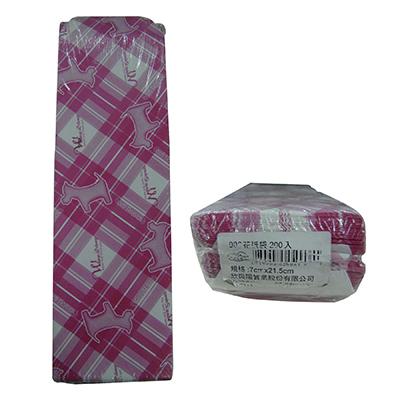【文具通】興陽906花紙袋200入[21.5x7cm] E7050401