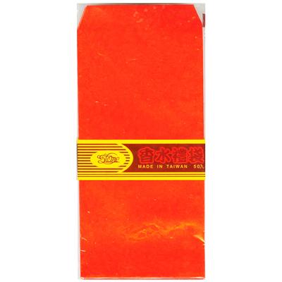 【文具通】AITE 愛德 香水腊光紅包袋A 50入 E7080002