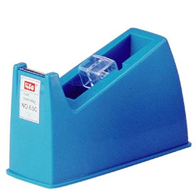 【文具通】Life 徠福 膠帶台(長型)-灰、藍、黑三色 NO.650 F2010134