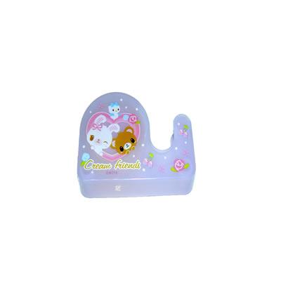 【文具通】甜蜜家族輕巧小膠帶台2500304 F2010213