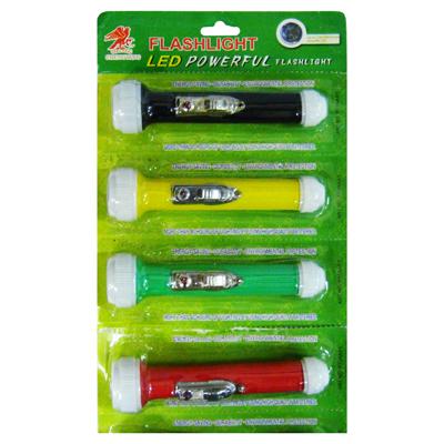 【文具通】美和3 LED手電筒 F4010308
