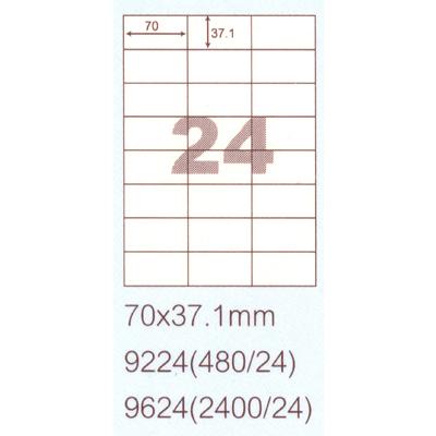 【文具通】華麗牌 阿波羅 影印雷射噴墨用透明護貝膠膜 9824 F6010387