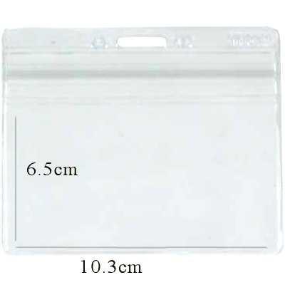 【文具通】TP-032  防水證件套(透明) 橫式 10.3x6.5 cm內徑 F6010809