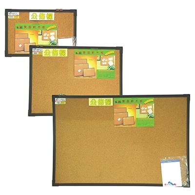 【文具通】SUCCESS 成功 Kadon 高等 011508 雙面軟木板/軟木佈告欄 小 1x1.5 30x45cm 雙面都可使用 H3010005 H3010005
