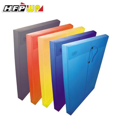 【文具通】霧面文件袋(F/C) 藍 HFGF119B1