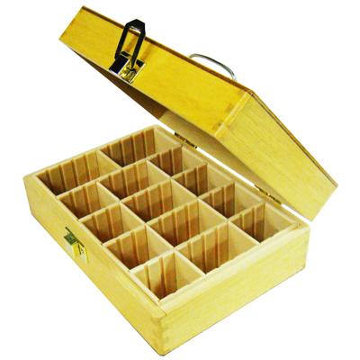 【文具通】木質 印章盒 約22.3x17.8x7.3cm 中 K4050003 K4050003