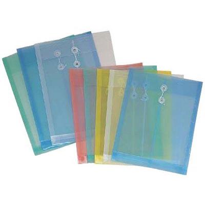 【文具通】B4pp附繩文件袋[粉紫] L1020196