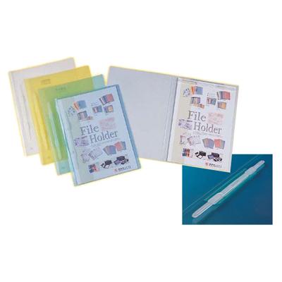 【文具通】聯勤LC-019 PP透明公文夾[藍] L1020317