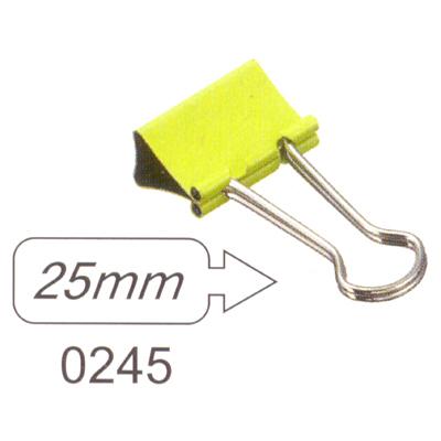 【文具通】SDI 順德 0245 彩色長尾夾25mm L1090019
