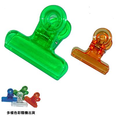 【文具通】承儀9508彩色透明圓夾大64mm L1130073