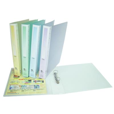 【文具通】文具通8002 A4 PP果凍 2孔活頁夾 L1150103