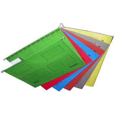 【文具通】BANTEX Suspension Files 紙質吊夾 A4 3460 紅 L1160004