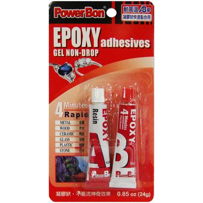 【文具通】PowerBon耐高溫AB膠2996 24ml L2080013