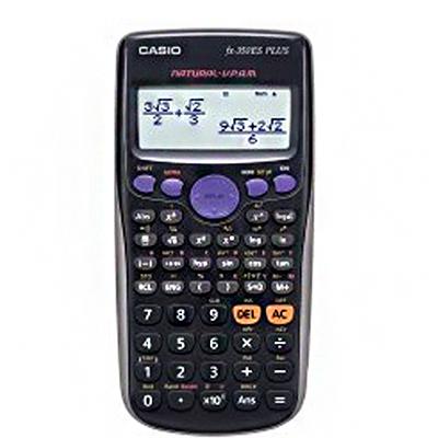 【文具通】CASIO FX-350ES PLUS 科學型標準計算機 L5140033