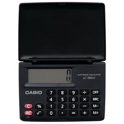 【文具通】CASIO LC-160 8計算機8.4x5.7cm L5140045