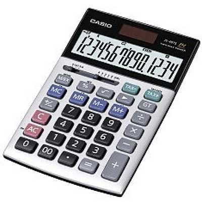 【文具通】CASIO JS-40TS 14位計算機 L5140106