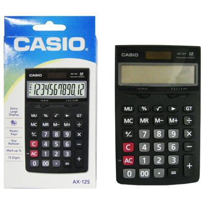 【文具通】CASIO AX-12S計算12位10.5*17cm L5140152
